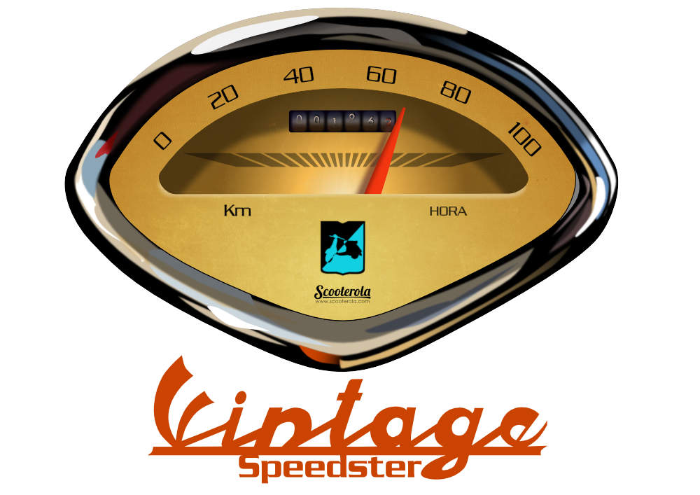 Buy vintage Lambretta speedometer designs. Available on t-shirts and mugs only from Scooterola. Full retro colour! Directly from Etsy's secure site.