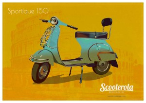 Scooterola Prints