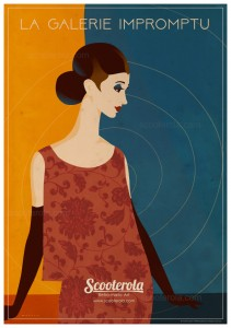SC171001 Galerie Impromptu kevin mcsherry retro print poster